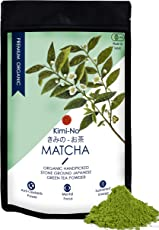 Kimino Japanese Organic Matcha Green Tea Powder, 50g