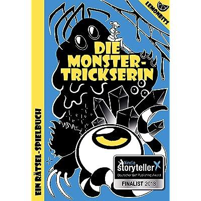 Lemonbits : Die Monstertrickserin: Ein Rätsel-Spielbuch