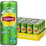 Lipton Ice Tea Green, een heerlijk verfrissende ijsthee - 4x6 - 24 blikjes - 6000 ml