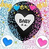 Sunshine smile Boy or Girl Party,Gender Reveal Kit,Baby Shower Balloon,Gender Reveal Party,Boy or Girl Banner,Baby Shower Par
