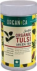 Organica Organic Green Tea, Tulsi, 100g