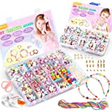 WinWonder Bambini Perline,1150 PCS Perline Colorate dei Bambini Fare Gioielli Braccialetti Necklace Kit Perline Lettere…