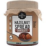 The Butternut Co. Chocolate Hazelnut Spread, 200 gm Crunchy (No Refined Sugar, Vegan, No Preservatives)