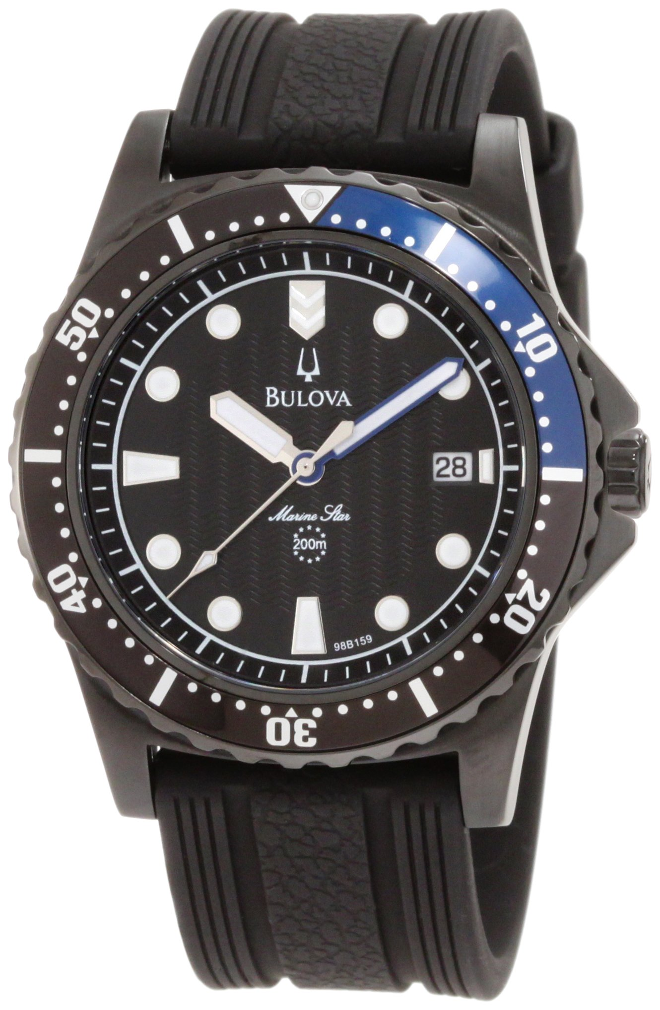Bulova Men's 98B159 Marine Star Rubber Strap Watch