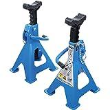 BGS 3014, onderstelbokken, draagvermogen 2000 kg, paar, slag: 268-418 mm, 1 paar, verstelbaar, incl. rubberen pad