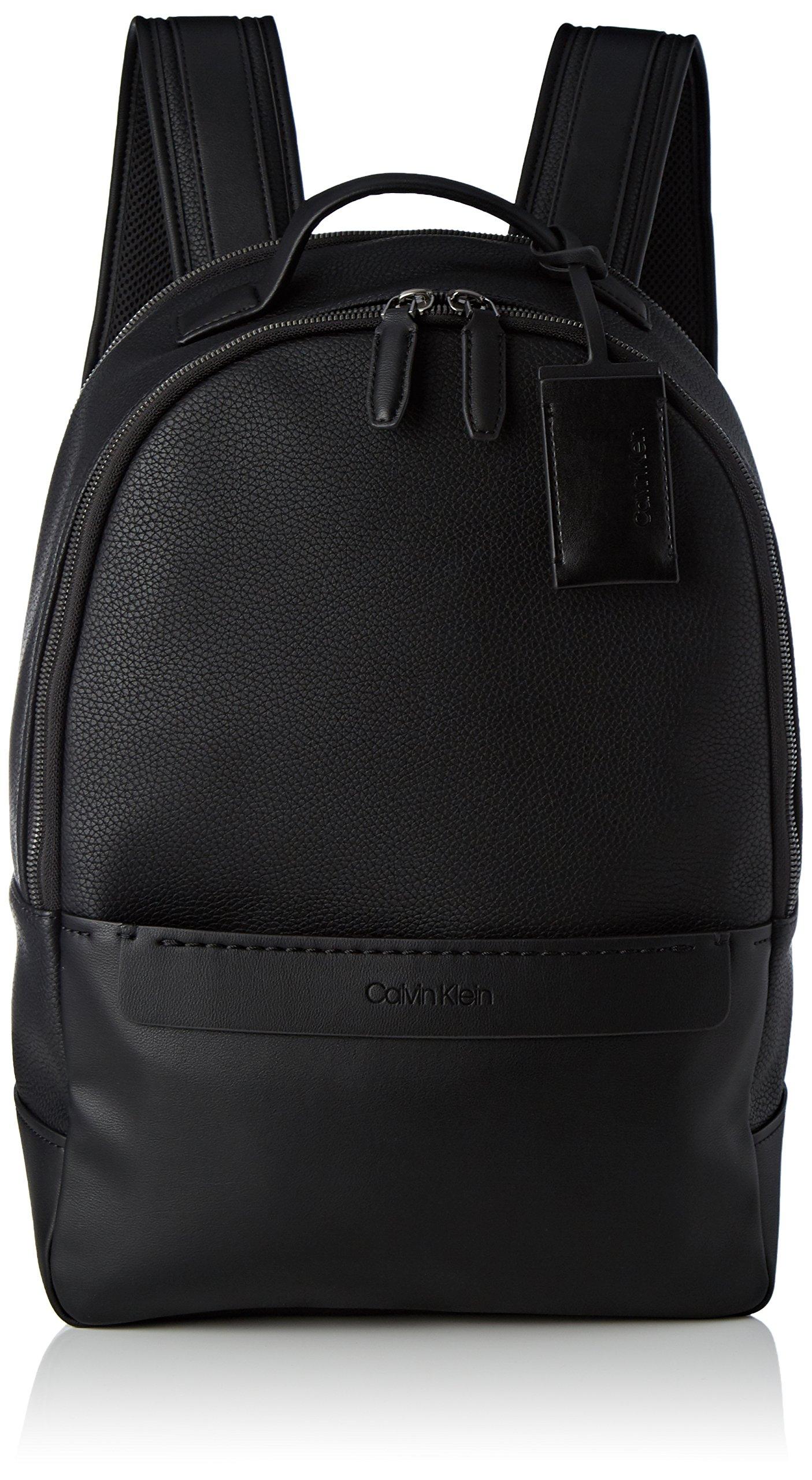 Calvin Klein Jeans – Multi Task P Backpack, Mochilas Hombre, Negro (Black), 16x43x32 cm (B x H T)