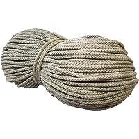 Baumwollkordel 50M und 100M zum Wahl Baumwollschnur BW-Kordel Baumwolle schnur NATUR deco viele Farben