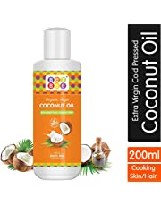 Bey Bee Extra Virgin Organic Coconut Oil for New Born Babies, 200ml