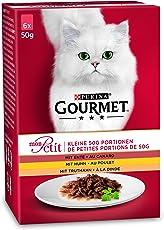 Gourmet Mon Petit Katzennassfutter 8er Pack (8 x 6 x 50 g)