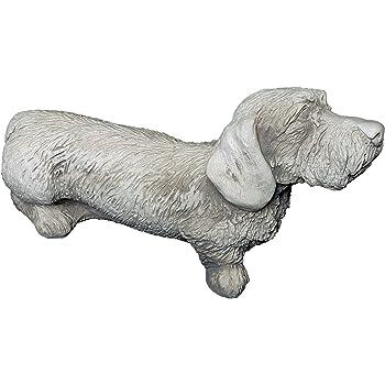 frostfest gartendekoparadies.de S/üsser Chihuahua Hund aus Steinguss