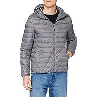 Urban Classics Basic Hooded Down Jacket Giacca Uomo