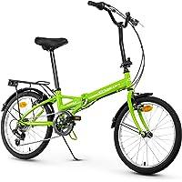Anakon Folding Vélo de Sport Pliable Unisexe pour Adulte Vert