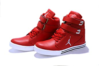 Hush Berry Men's Red Synthetic Leather Jordan SJS Series Shoes