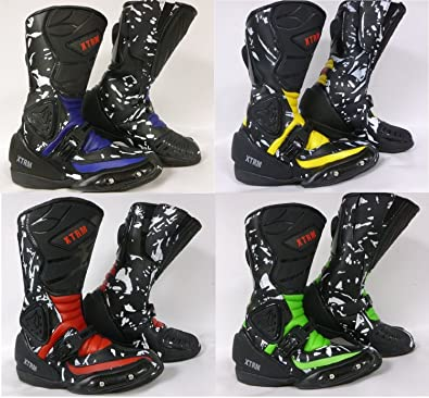 Motorbike Motorcycle Kids Boots XTRM ADVENTURE Kids Sports Touring ...