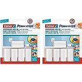 tesa Powerstrips kabelclip, wit, 5 stuks (verpakking van 10, A)
