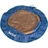 SEAC Unisex's Changing Mat and Bag for Wet Clothes, Hygienic and Handy Accessory for Swimming Pool and Gym, Blue, standard