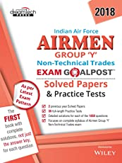 Indian Air Force Airmen Group Y Non - Technical Trades Exam Goalpost Solved Papers and Practice Tests