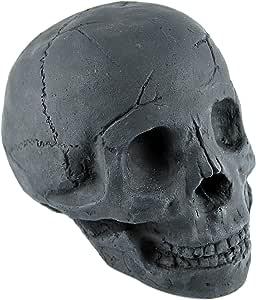 22,9 cm schwarz Stanbroil Holzscheite mit Totenkopf