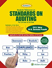 Padhuka's Students' Referencer on Standards on Auditing: For CA Inter/IPCC and CA Final