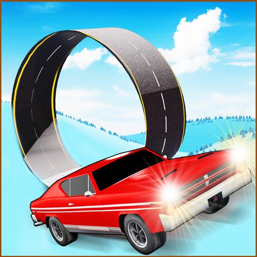 Snow Car Race & Stunts Extreme (Kostenlos) - Spiele Monster Jam