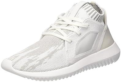 adidas Tubular Defiantpk W, Sneakers Basses Femme, Blanc (Ftwwht/Ftwwht/Cgrani), 40 EU