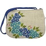 Bhagwati Handicrafts Handamde Women's Handbag (Beige, Bhagwati Handicrafts 002)
