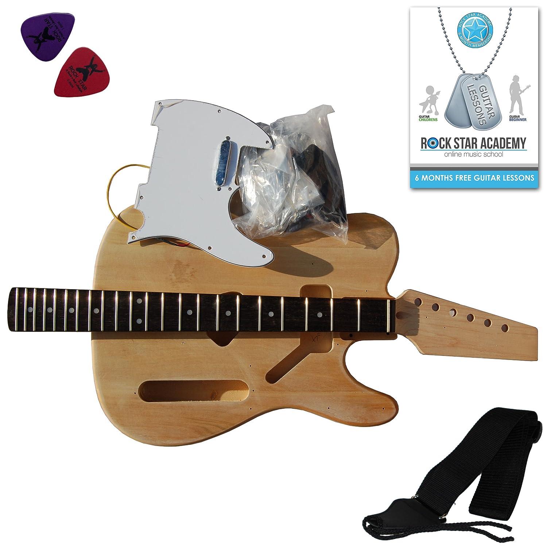 electric guitar telecaster diy kit build your own guitar