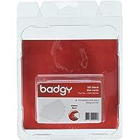 Badgy 948915 - Cartes pour Badgy en PVC 100 unités, blanc