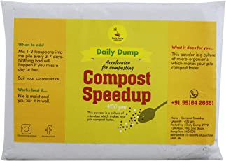 Daily Dump Compost Speedup with Microbes for Quality Composting
