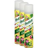 Shampoo a secco Batiste Dry Shampoo Coconut & Exotic Tropical, fresca capelli per tutti i tipi di capelli, confezione da…