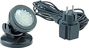 Pontec 57519 Unterwasserbeleuchtung PondoStar LED 1 er set | LED Spotset | Beleuchtung | Unterwasserscheinwerfer | Teichbeleuchtung