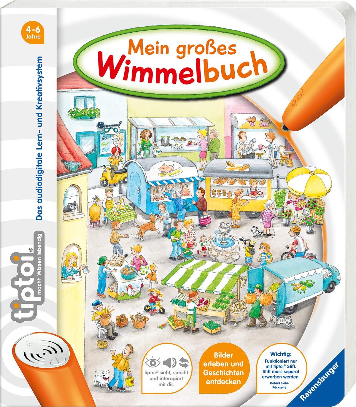 tiptoi® Mein großes Wimmelbuch