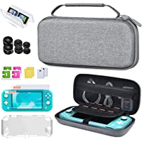 BEBONCOOL Switch Case for Nintendo Switch Lite,Switch Carry Case Compatible With Nintendo Switch - GRAY Protective Hard…