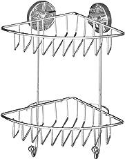 WENKO Vacuum-Loc Bari 2 Etagen - Befestigen ohne bohren, Stahl