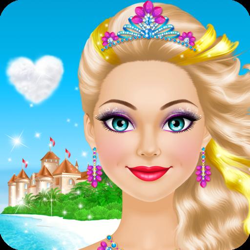 Tropical Princess Salon: Spa, Makeup and Dress Up Makeover - girly girl games