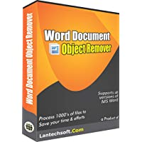 Lantech Soft Word Document Object Remover (CD)
