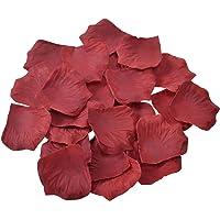 Doutop, petali di rosa artificiali, 1000 pezzi, di seta, decorazioni per matrimonio, festa di San Valentino, proposta di…