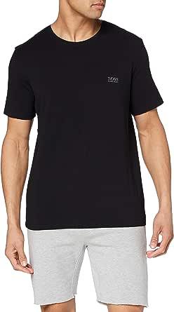 BOSS Mens Mix&Match T-Shirt R Stretch-Cotton Loungewear T-Shirt with Logo