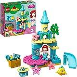 LEGO 10922 DUPLO Disney Ariëls Onderzeese Kasteel, Poppetjes van Princess Ariel, Speelgoed voor Peuters vanaf 2 Jaar met Disn