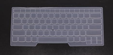 Saco Keyboard Silicon Protector Cover for Thinkpad T460 T460p T460s T470 T470s E460 E645 E470 E475 L460, P40 Yoga Laptop