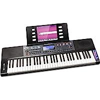 Rockjam 61 Tasto della Tastiera di Pianoforte con Foglio di Pitch Bend Leggio Pianoforte Nota Potere Adesivo di…