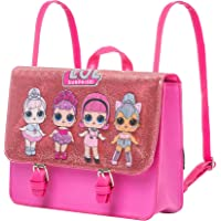 Cerdá L O L Surprise! Tasche, Rosa Funkeln Umhängetasche für Mädchen, Kinder Rucksack, 2 auf 1 Design, Geschenk für…