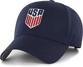 OTS World Cup Soccer United States Men's All-Star MVP Adjustable Hat, Navy, One Size