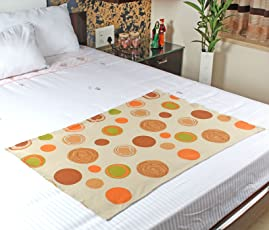 Mosgard Mosquito Repellent Cotton Blanket, Circular Beige, S