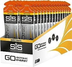 Science in Sport Go Gel isotonico di energia, Arancia, Confezione da 30 x 60 ml