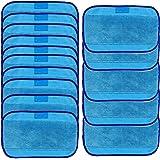 Kangrunmy Chiffons De Nettoyage En Microfibres Serviettes Mopping Lingettes Nettoyeur15 Wet Pour Irobot Braava 380 380T 320 Mint 4200 4205