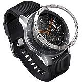 Ringke Bezel Styling Kompatibel mit Galaxy Watch 46mm Hülle / Galaxy Gear S3 Frontier & Classic Lünette Ring Schutz Kratzfest [Edelstahl] für Galaxy Watch 46mm Zubehör GW-46-01