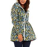 Dalsa New Women's Raincoat Mac Lightweight rain Parka Shower Jacket