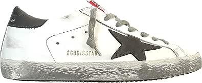 Golden Goose Sneakers Uomo Vintage Superstar G35MS590.Q11 Bianco-Grigio