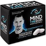 MIND THE GUM, Integratore con caffeina e vitamine per Concentrazione ed Energia Mentale - Confezione da 12 giorni con 36…